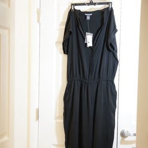 Black Jumpsuit Romper size XL New with Tags
